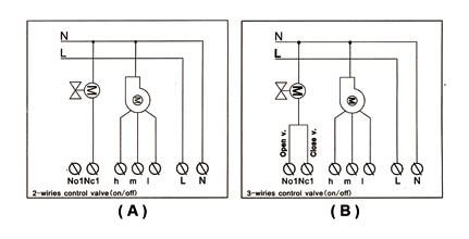 液晶温控器_wsk-8e风机盘管温控器